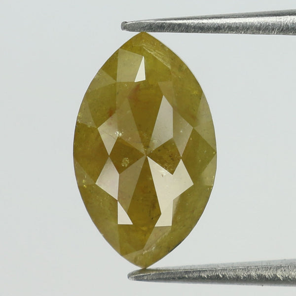 1.65 Ct Natural Loose Diamond Marquise Yellow Color I3 Clarity 11.10 MM L8849