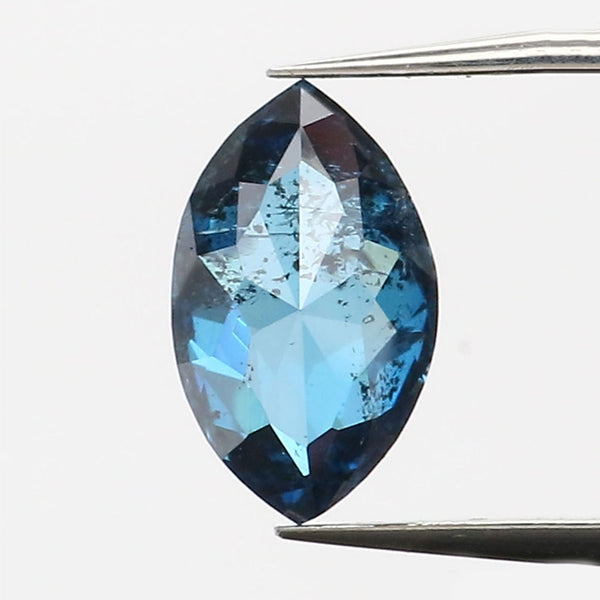 0.41 CT Natural Loose Diamond Marquise Blue Color I3 Clarity 6.50 MM L9170