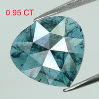 0.95 Ct Natural Loose Diamond Heart Blue Color I3 Clarity 8.10 MM L8045