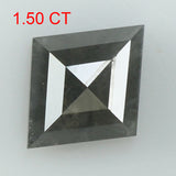 1.50 Ct Natural Loose Diamond Kite Grey Color I3 Clarity 9.60 MM KDK2049