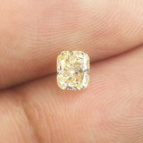 0.31 Ct Natural Loose Diamond Cushion Yellow Color SI1 Clarity 4.40 MM L8614