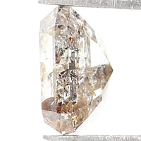 2.47 Ct Natural Loose Diamond Oval Black Color 9.45 MM ML8602