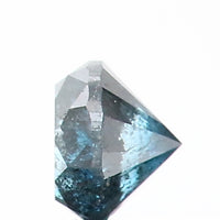 0.38 Ct Natural Loose Diamond Round Blue Color I3 Clarity 4.20 MM L8648