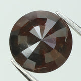 1.60 Ct Natural Loose Diamond Round Rose Cut Brown Color I3 Clarity 6.95 MM L8217