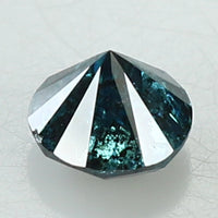 0.78 Ct Natural Loose Diamond Round Blue Color I3 Clarity 5.50 MM L8276