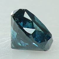 0.36 Ct Natural Loose Diamond Round Blue Color I3 Clarity 4.20 MM KR2061