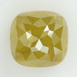 1.14 Ct Natural Loose Diamond Cushion Yellow Color I3 Clarity 5.35 MM KR2015