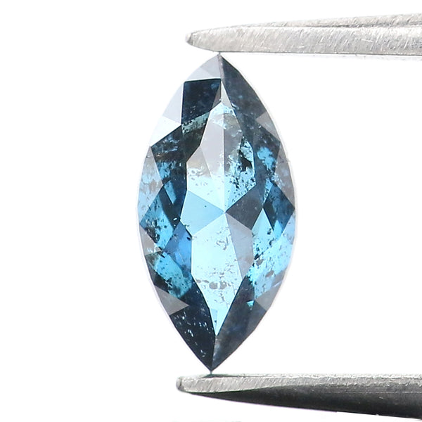 0.39 Ct Natural Loose Diamond Marquise Blue Color I3 Clarity 6.75 MM L8939