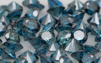 Natural Loose Diamond Round Blue Color VS1 SI1 Clarity 1.55 to 2.05 MM  15 Pcs Q24