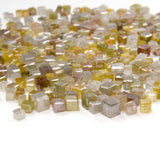 Natural Loose Diamond Cube Mix Color I1-I3 Clarity 1.50 to 2.50 MM Q63