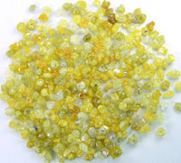 Natural Loose Diamond Rough Bead Yellow Color I3 Clarity 2.00 Ct Lot Q77
