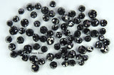 Round Bead Black Color Natural Loose Diamond I1-I3 Clarity 1.50 to 2.70 MM 10 Pcs Q157