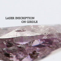 GIA CERTIFIED Natural Loose Diamond Marquise Fancy Grayish Purple Pink Color 0.53 Ct L6912 Bkk