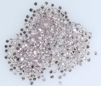 Natural Loose Diamond Round Pink Color SI1 Clarity 0.80 to 1.00 MM 25 pcs Lot Q27