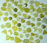 Natural Loose Diamond Rough Yellow Mix Color I3 Clarity 5.00 Ct Lot Q105