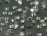 Natural Loose Diamond Round Brilliant Cut G H Color SI1 Clarity 1.00 to 3.00 MM 1 PIECE Q13