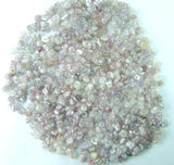 Natural Loose Diamond Rough Bead Pink Ice Grey Color I3 Clarity 50 Pcs Lot Q79