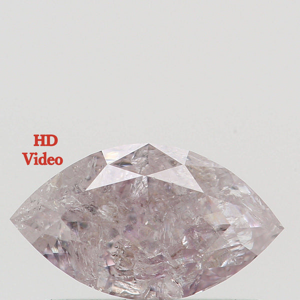 Natural Loose Diamond Marquise Light Pink Color 0.46 Ct 6.90 MM L7933 BKK