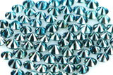Natural loose Diamond Round Blue Color VS1 SI1 Clarity 2.50 to 2.70 MM 5 Pcs Q26
