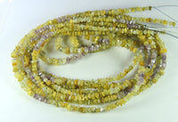 Natural Loose Diamond Rough Bead Yellow Pink Color I3 Clarity 16 Inch Q158