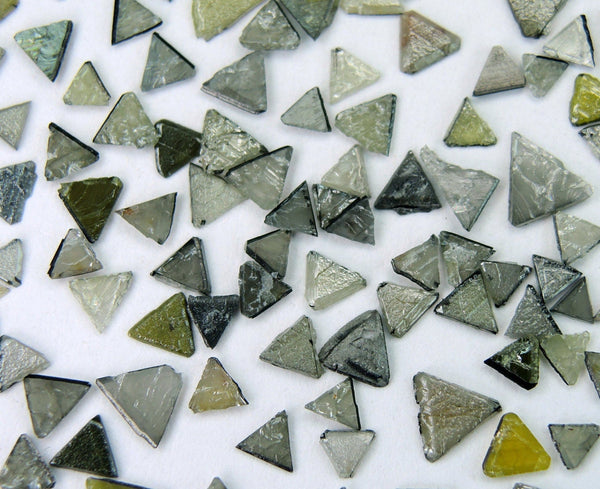 Natural loose Diamond Rough Triangle Flat Uncut Industrial Use 5.00 Ct lot Q58