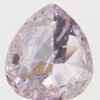 Natural Loose Diamond Pear Pink Color I2 Clarity 4.22 MM 0.21 Ct L6315