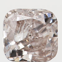Natural Loose Diamond Cushion Brown Pink Color I1 Clarity 2.90 MM 0.15 Ct L5601