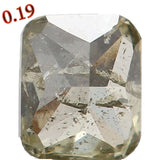 Natural Loose Diamond Cushion Green Color I2 Clarity 3.50 MM 0.19 Ct L5598