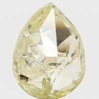 Natural Loose Diamond Pear Yellow Color I2 Clarity 4.40 MM 0.21 Ct L5588