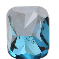 Natural Loose Diamond Cushion Blue Color SI2 Clarity 3.10 MM 0.15 Ct KR877