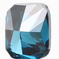 Natural Loose Diamond Cushion Blue Color SI1 Clarity 3.00 MM 0.12 Ct KR903