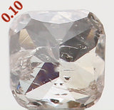 Natural Loose Diamond Cushion Brown Color I1 Clarity 2.60 MM 0.10 Ct L5707