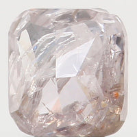 Natural Loose Diamond Cushion Pink Brown Color I1 Clarity 3.00 MM 0.17 Ct L5713