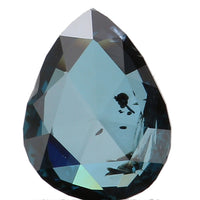 Natural Loose Diamond Pear Blue Color SI2 Clarity 5.90 MM 0.35 Ct L6361