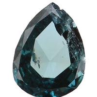 Natural Loose Diamond Pear Blue Color I1 Clarity 4.60 MM 0.16 Ct KR1313