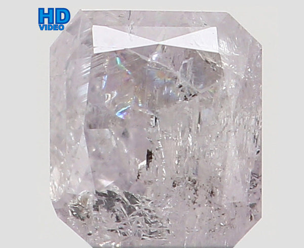 Natural Loose Diamond Cushion Pink Color I2 Clarity 3.40 MM 0.198 Ct KR935