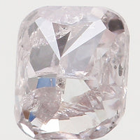 Natural Loose Diamond Cushion Pink Color I2 Clarity 3.30 MM 0.20 Ct KR1400