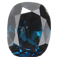Natural Loose Diamond Oval Blue Color SI1 Clarity 3.20 MM 0.12 Ct KR1016