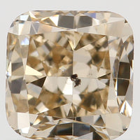 Natural Loose Diamond Cushion Brown Color SI2 Clairty 4.50 MM 0.67 Ct L5131