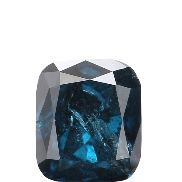 Natural Loose Diamond Cushion Blue Color I2 Clarity 3.90 MM 0.27 Ct L4388