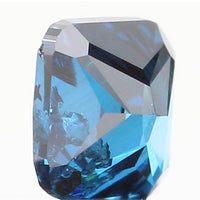 Natural Loose Diamond Cushion Blue Color I1 Clarity 2.80 MM 0.13 Ct KR153