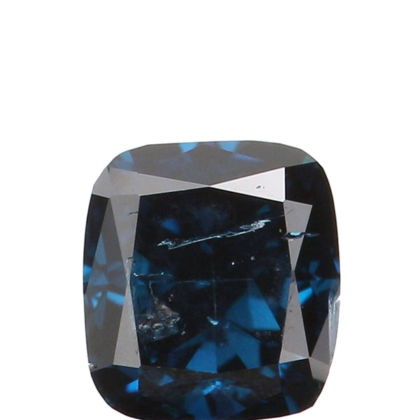 Natural Loose Diamond Cushion Blue Color SI2 Clarity 3.30 MM 0.18 Ct L5899