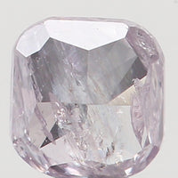 Natural Loose Diamond Cushion Shape Pink Color I2 Clarity 2.90 MM 0.12 Ct KR727