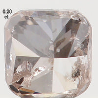Natural Loose Diamond Cushion Brown Color I1 Clarity 3.10 MM 0.20 Ct L5478