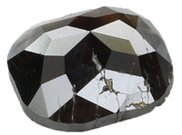 Natural Loose Diamond Cushion Brownish Black Color I3 Clarity 6.10 MM 0.75 Ct KR822