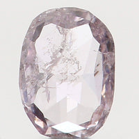 Natural Loose Diamond Oval Pink Color I2 Clarity 3.30 MM 0.07 Ct L5690