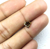 Natural Loose Diamonds Fancy Deep Orange Brown 6.80 MM 1.33 Ct