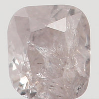 Natural Loose Diamond Cushion Brown Grey Color I3 Clarity 2.80 MM 0.12 Ct KR933