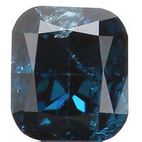Natural Loose Diamond Cushion Blue Color SI2 Clarity 3.20 MM 0.16 Ct L5760