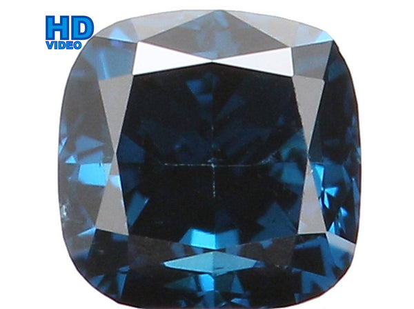 Natural Loose Diamond Cushion Blue Color VS1 Clarity 2.80 MM 0.15 Ct KR962